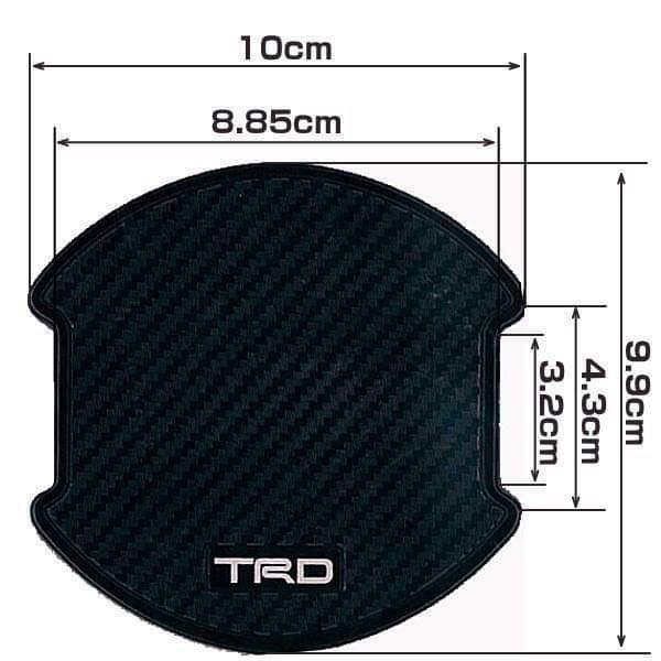 現貨 TRD Door Handle Protector TRD 門抽保護貼 防刮花 Toyota 豐田 及 Lexus 車專用(兩套包運費,智能櫃拎)