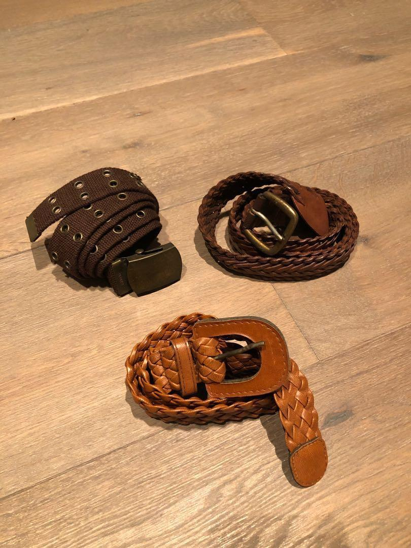 Assorted Belts