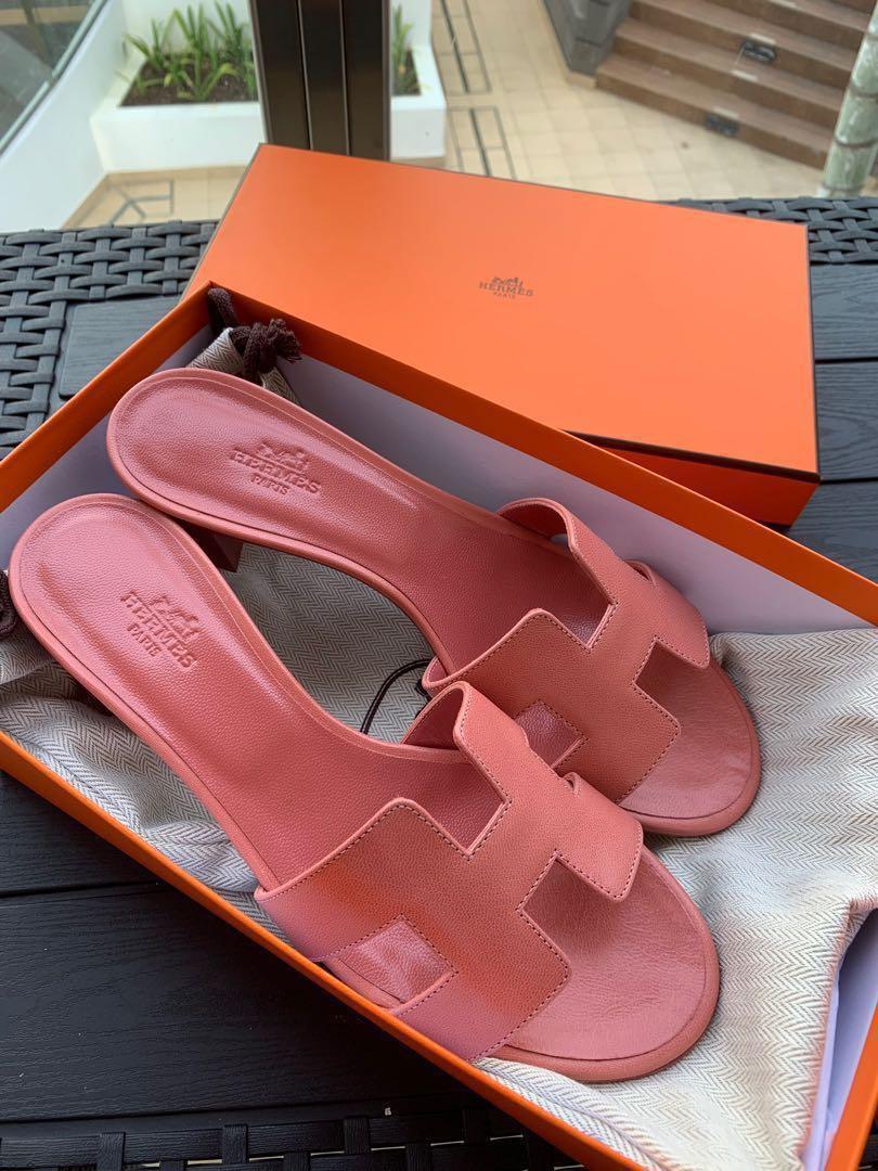 Hermes Oasis Oran Sandals size 37.5