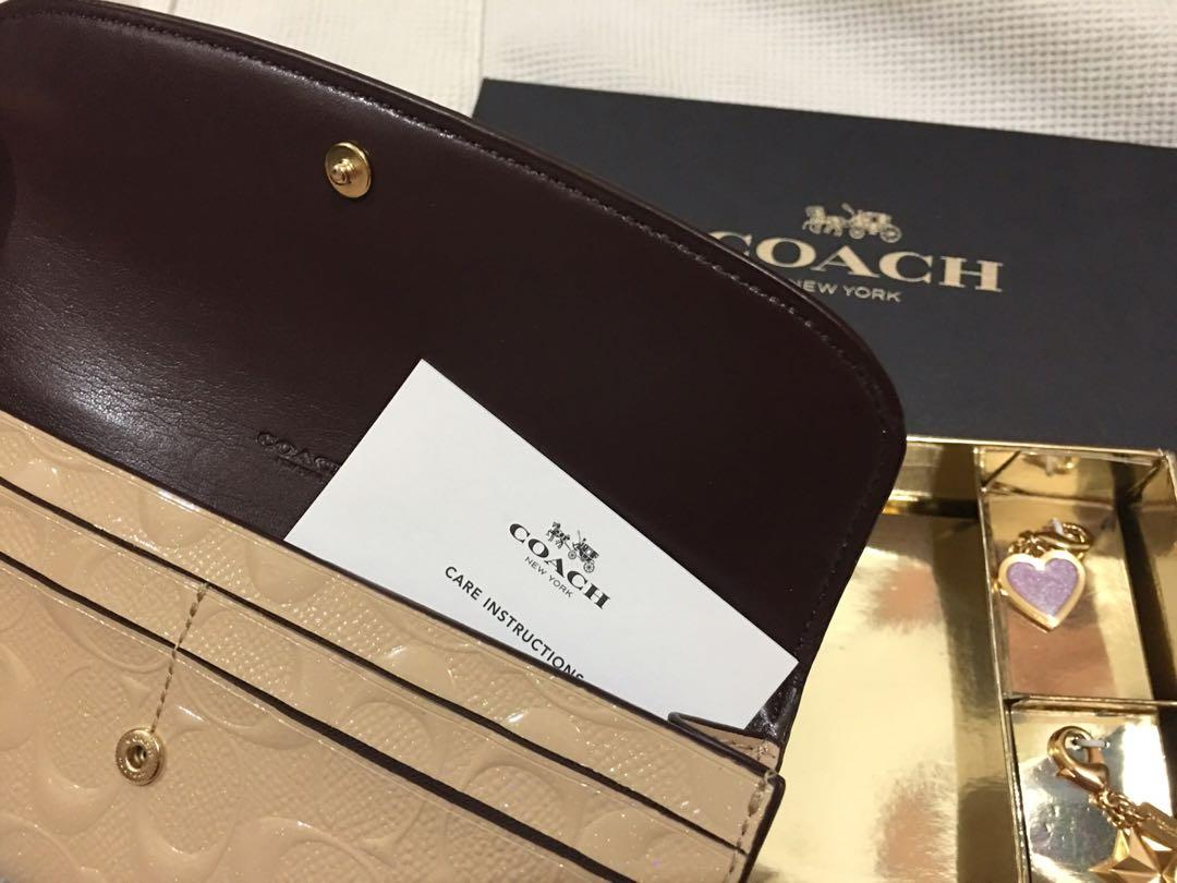 Authentic COACH Wallet from Boston USA