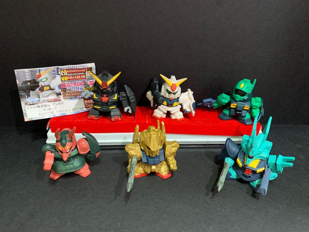 BANDI SD Gundam stage 7 扭蛋