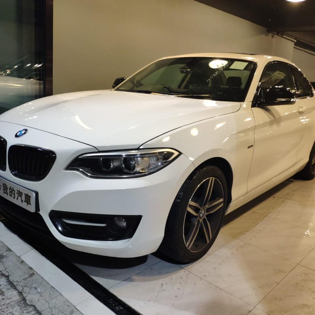 BMW 220I COUPE SPORT 2014