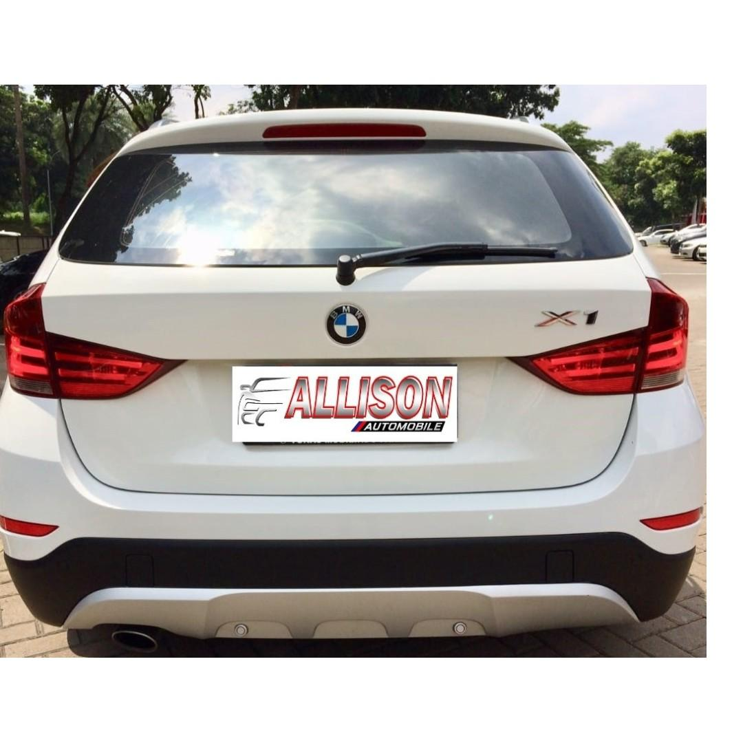 BMW X1 sDrive 2.0 AT 2014 Putih, Dp 78,9 Jt No Pol Ganjil