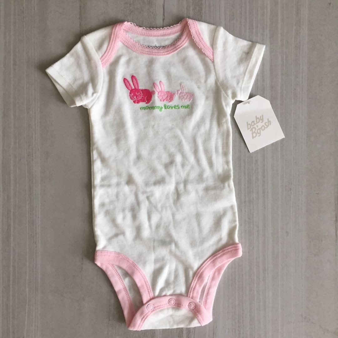 BNWT Baby girl pink rabbit Romper, 6 month old, Babies