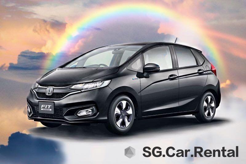 Honda Fit Hybrid Car