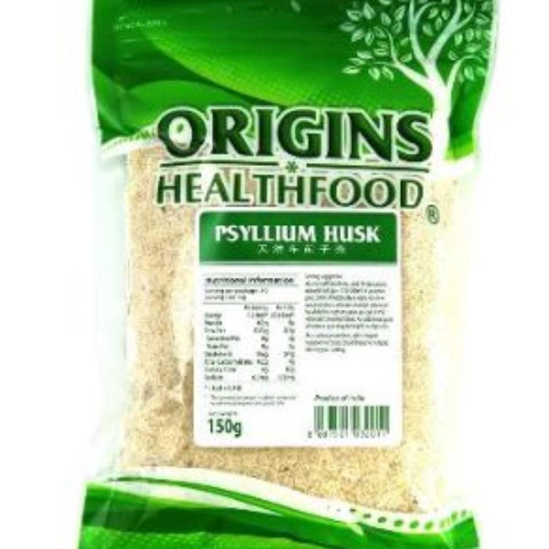 Brand New Origins Organic Psyllium Husk 150g Exp 2020 best