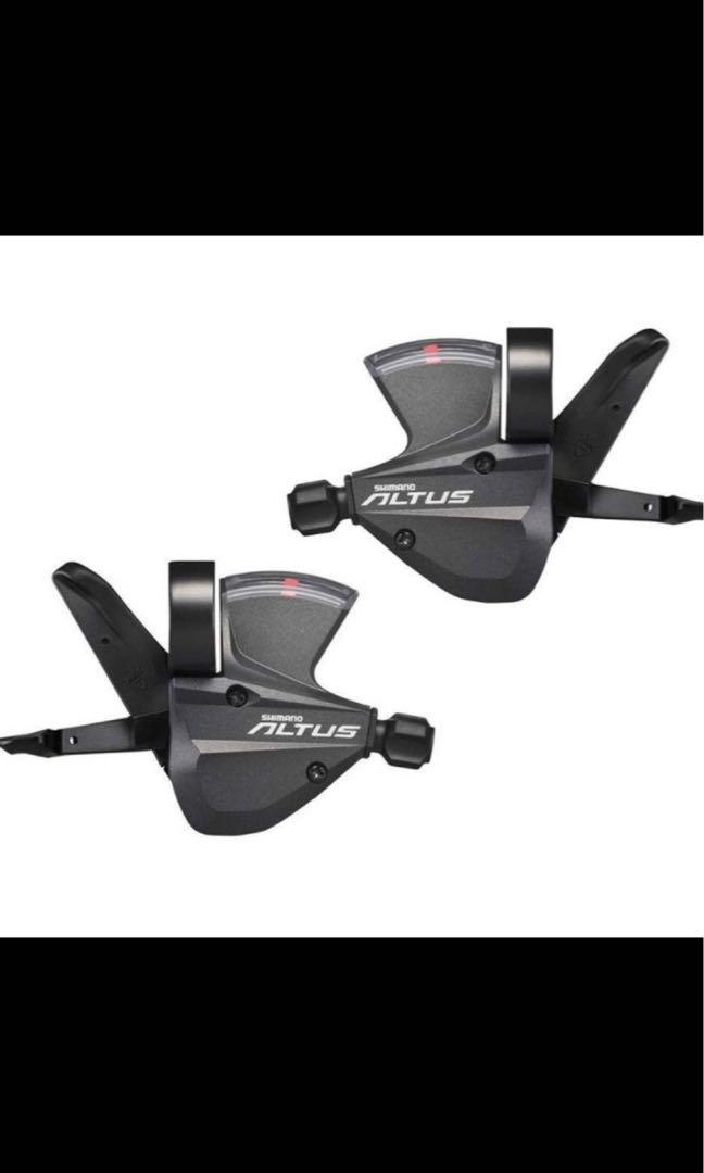 Brand New Shimano M370 Altus 3 X 9 Speed Shifters