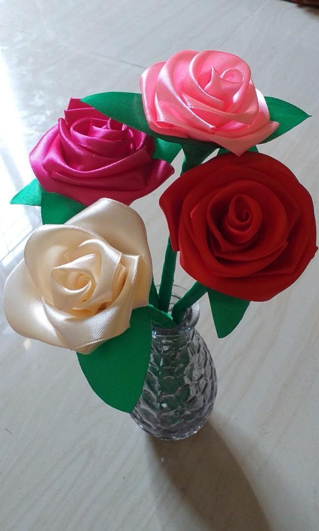 Bunga Mawar, hiasan ruang tamu / kamar