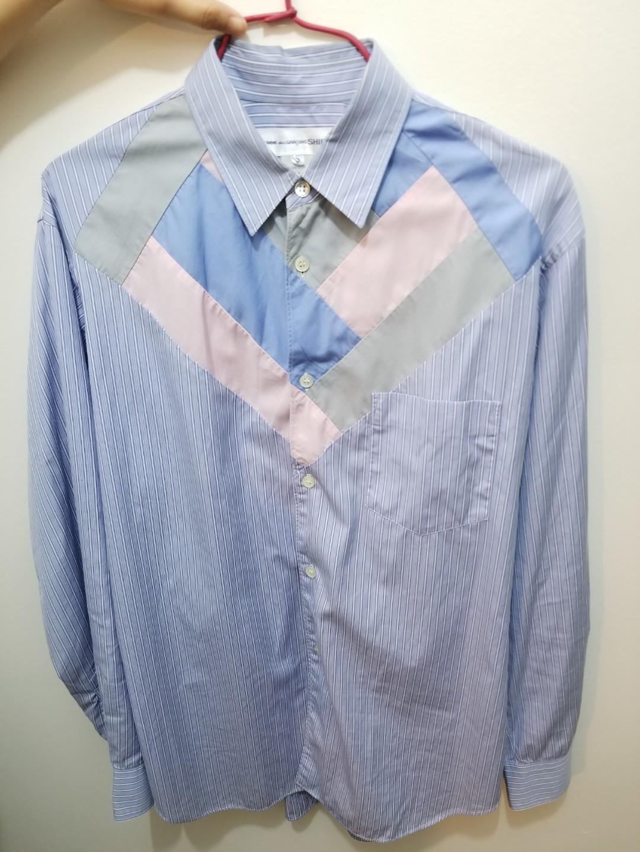 CDG shirt 95%new Size-S  易襯款