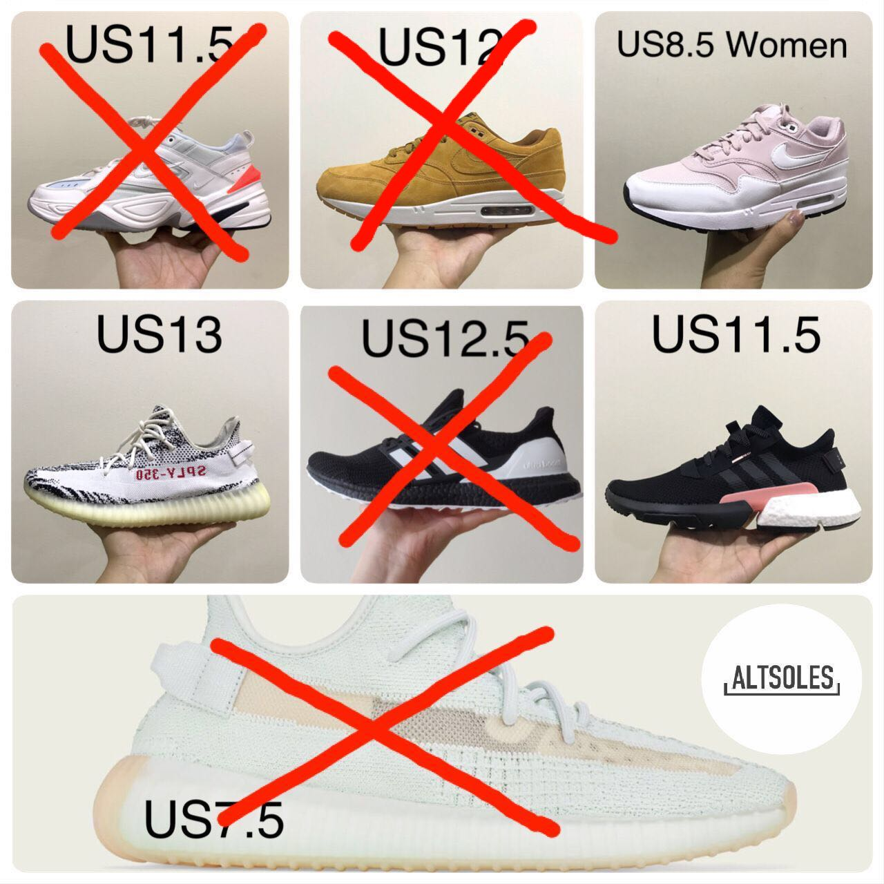 8133d7584 Clearing my Sneakers! Steal Deals!