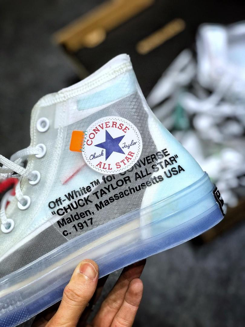 Converse Chuck Taylor All-Star Hi Off-White OW THE TEN 161034C