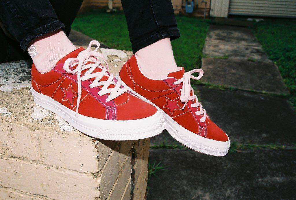 Converse One Star Carnival Pack Red