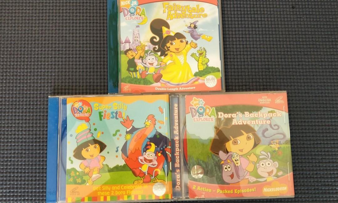 #ENDGAMEyourEXCESS Dora the Explorer VCDs