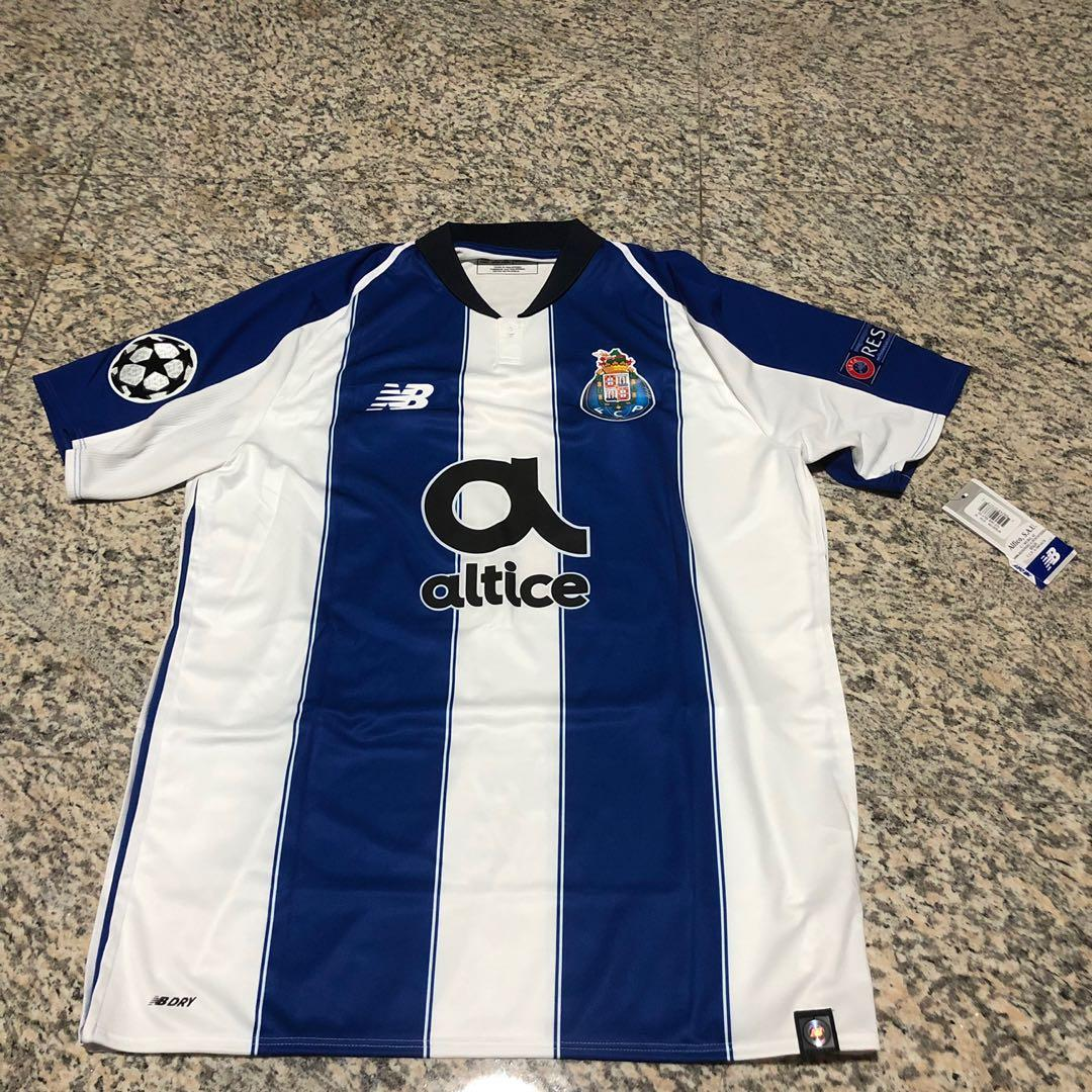 purchase cheap 53b3f 4c609 FC Porto 2018/19 Champions League Jersey, Sports, Sports ...