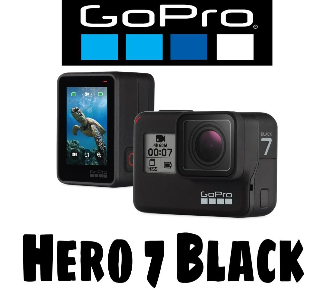 Gopro Hero 7 Black, Photography, Cameras, Others on Carousell