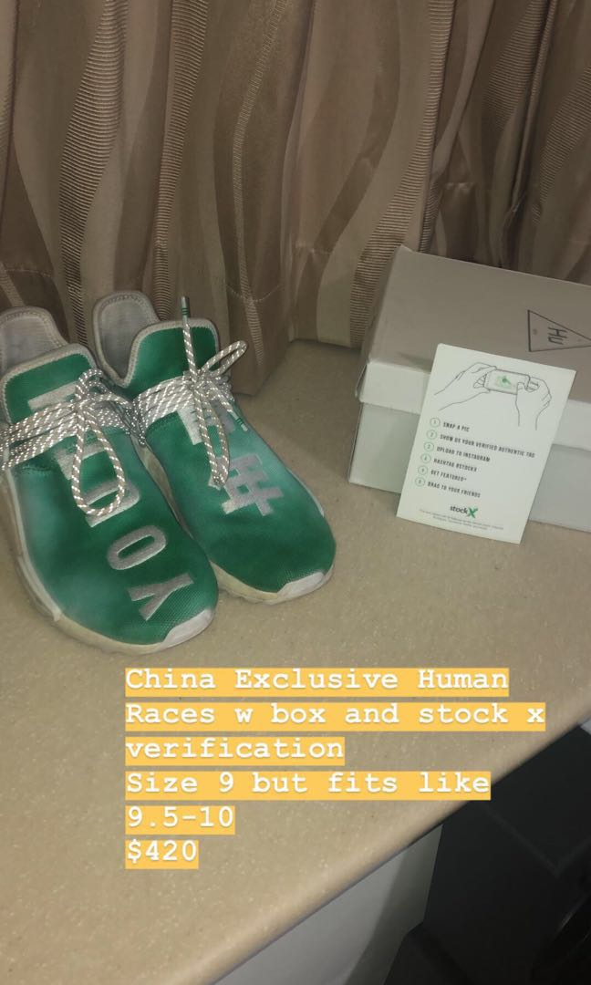 reputable site f1a65 fef6c Green China Exclusive Human Races