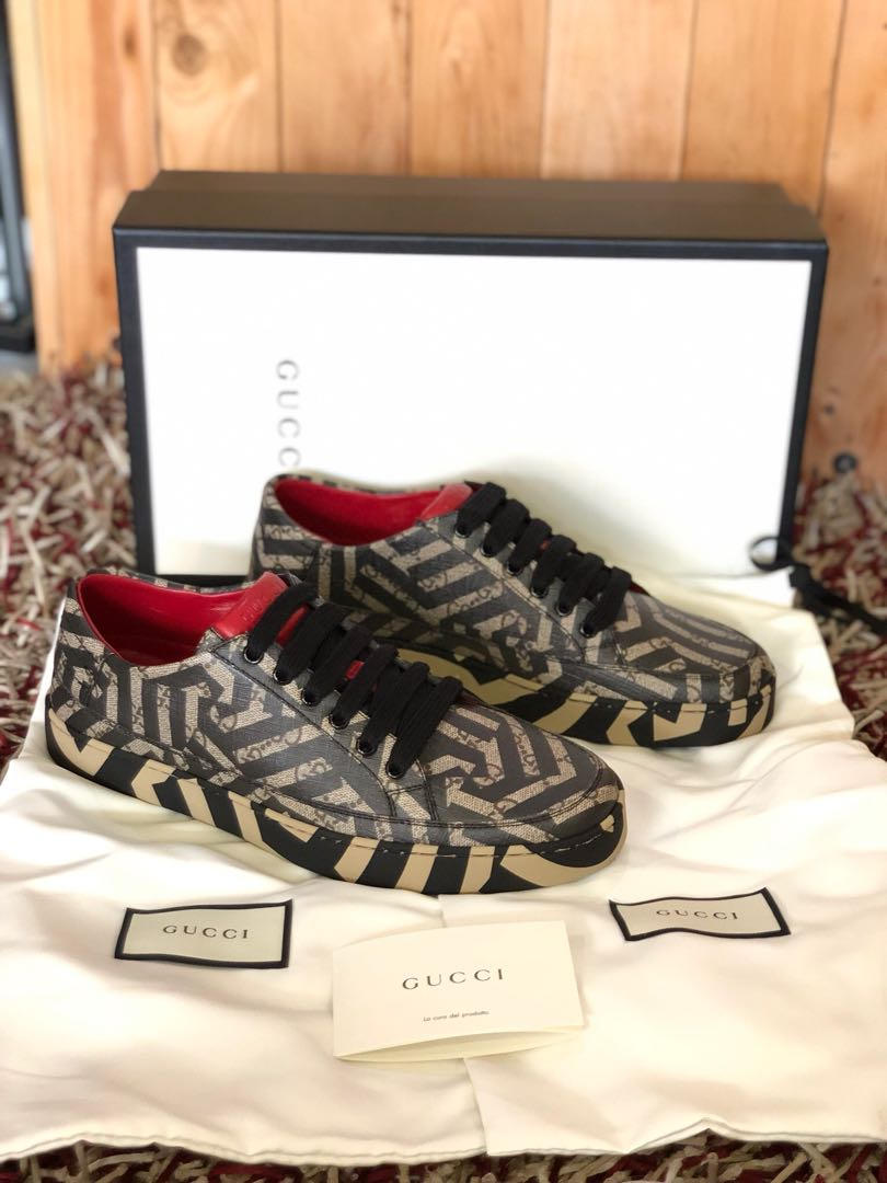 d3abeacf0 Gucci caleido sneakers shoes, Men's Fashion, Footwear, Sneakers on ...