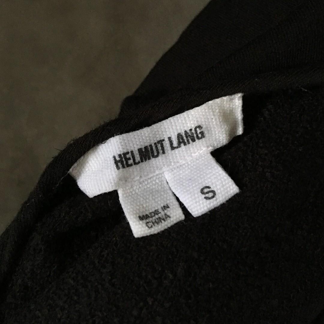 Helmut Lang Oversize Villous Sweatshirt Pullover Small