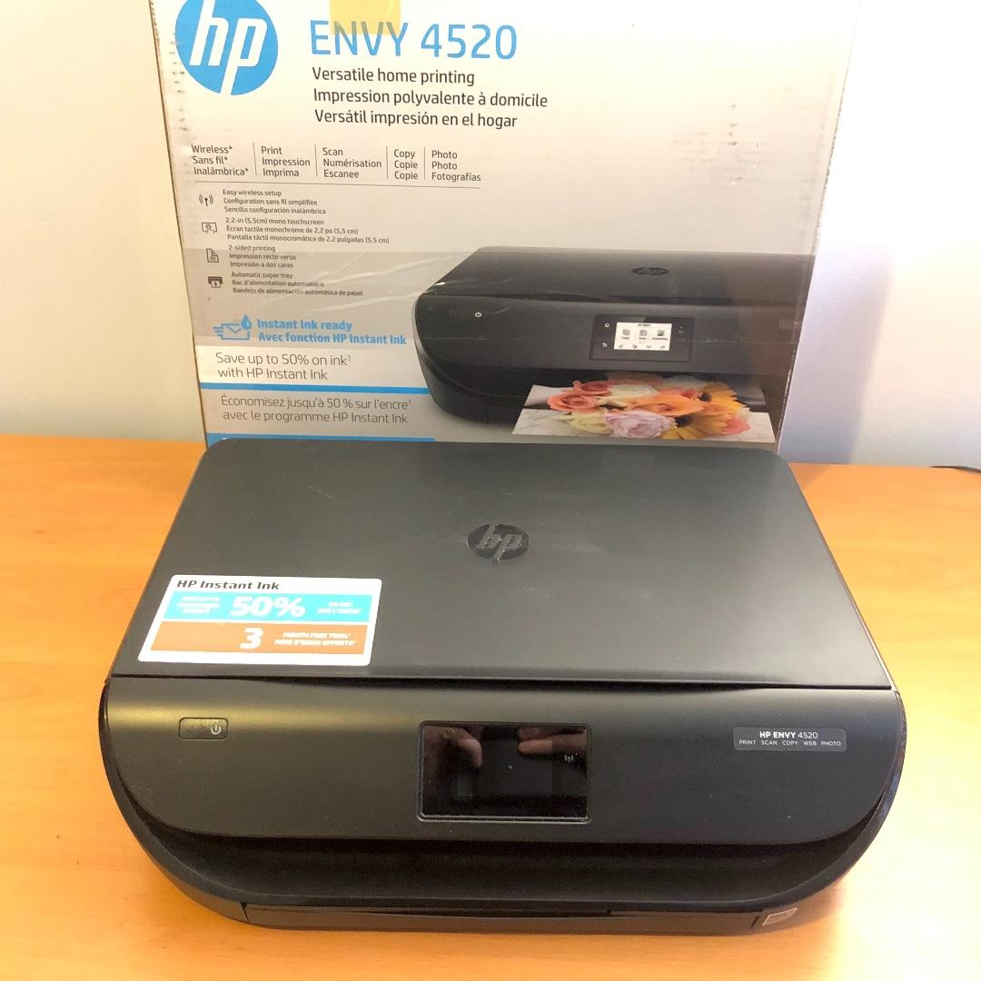 HP Envy 4520 Wireless All-in-One Photo Printer (Boxed)
