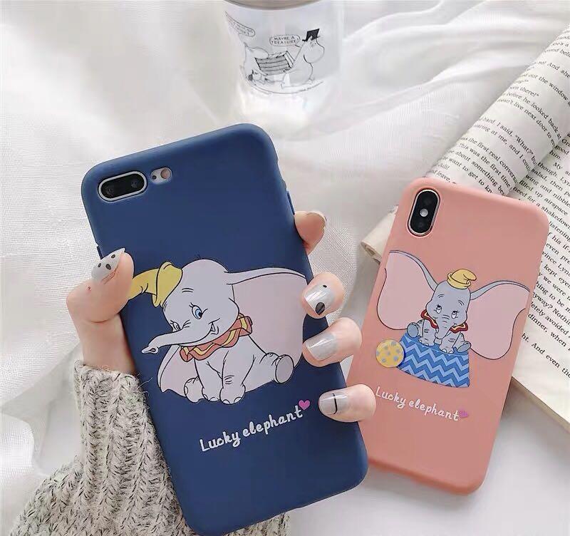 包郵❤️小飛象手機殻iPhone 6 7 8 plus XS XR S $100@3