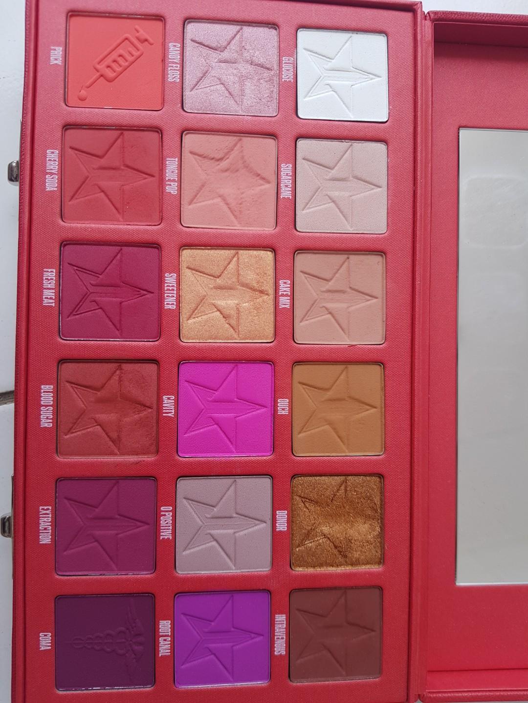 Jeffree Star Cosmetic Blood Sugar Eyeshadow Pallete