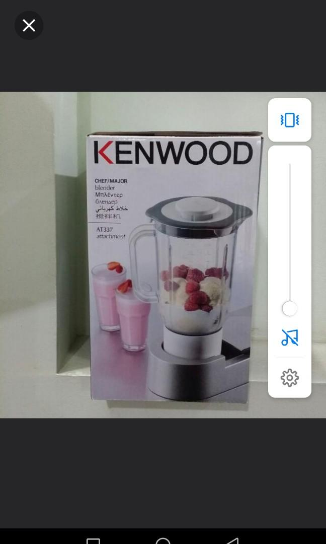 Kenwood chef major blender attachment. BNIB.