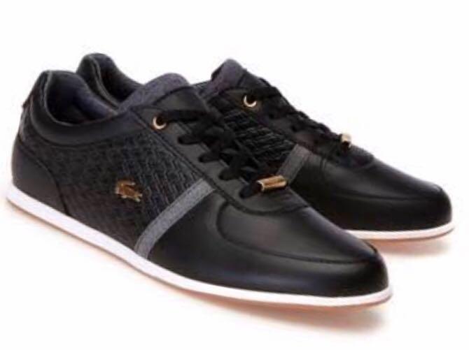Lacoste Sport Rey 318 Women's Sneakers, Black, Leather UK 7