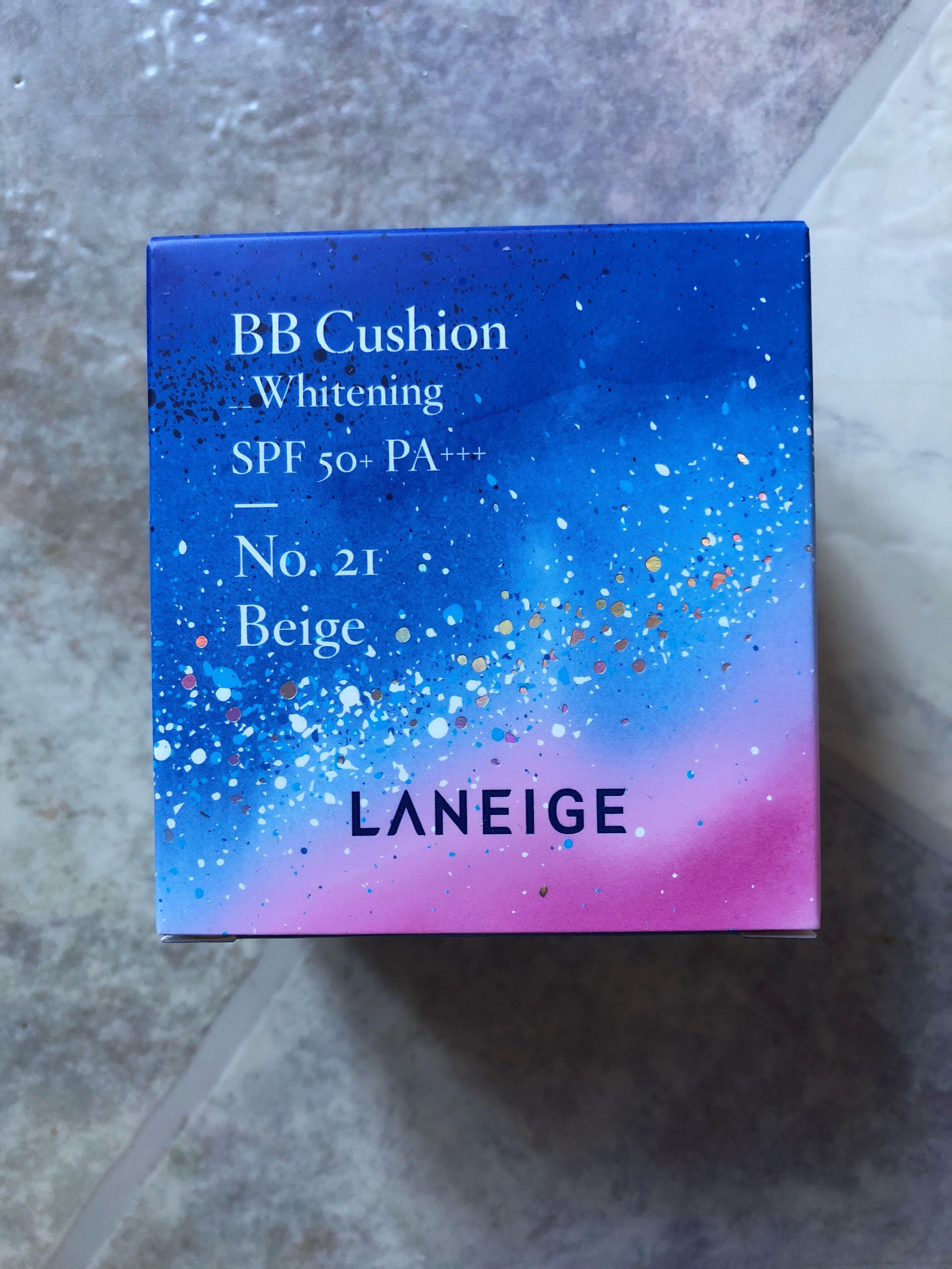 Laneige BB Cushion SPF 50 + PA+++ No.21 Beige + REFILL