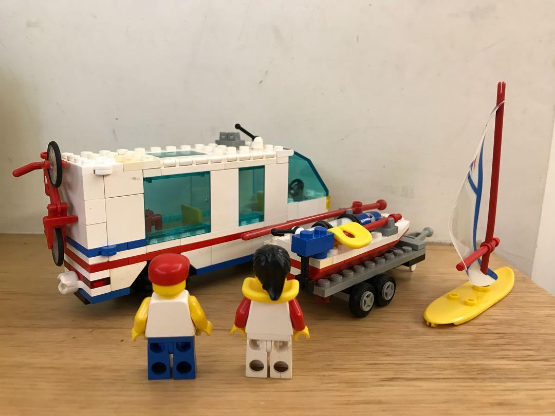 LEGO 6351 City Surf N' Camper 城市 旅遊渡假車