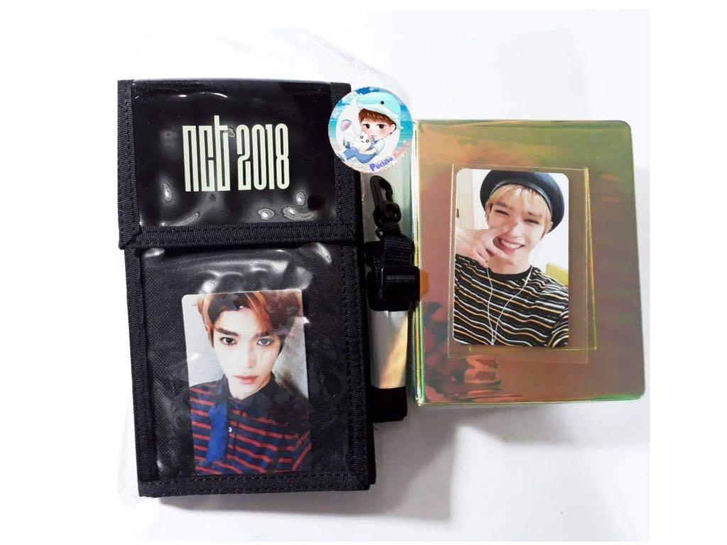 LF WTB NCT Taeyong Collect Book & Ticket Holder