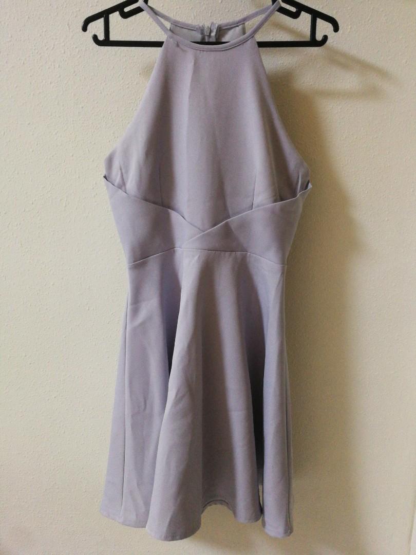 Lilac Skater Dress