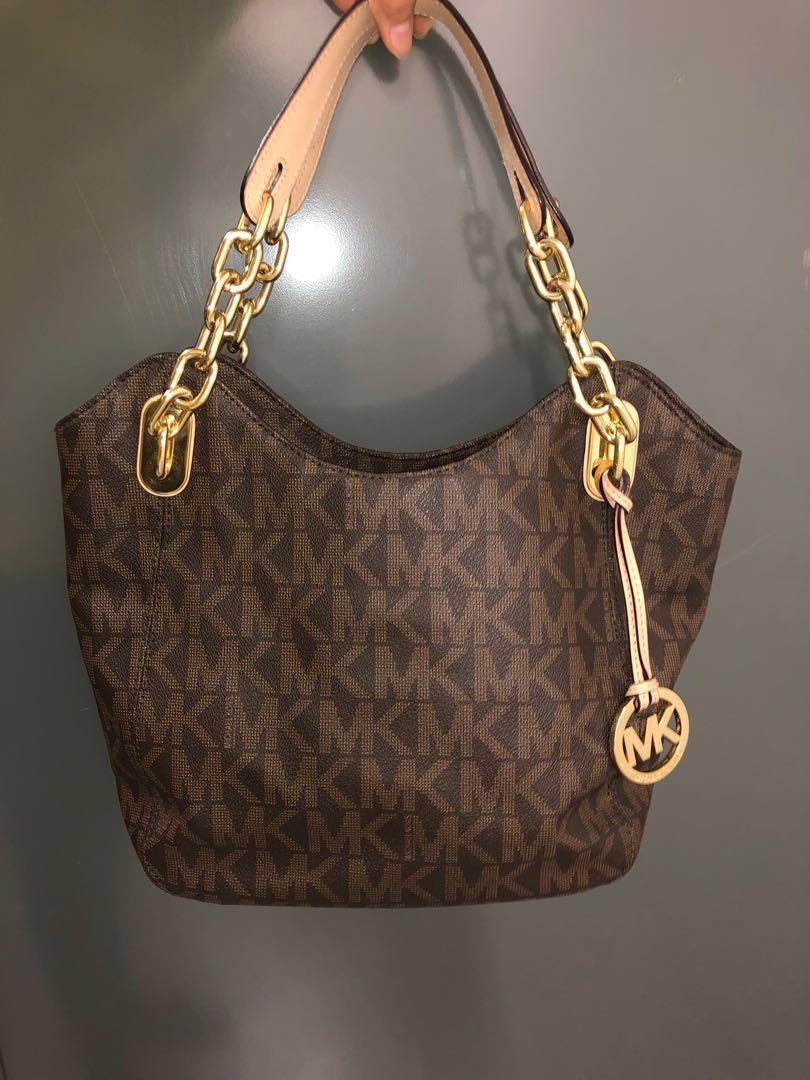 Michael Kors Brown Monogram Handbag