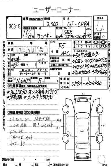 MITSUBISHI LANCER EVO VI 1999