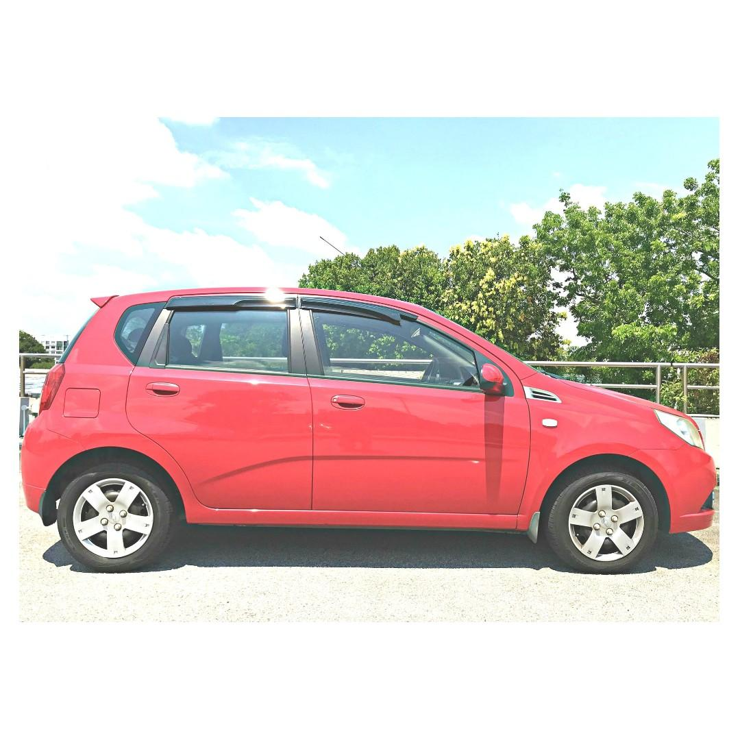 CHEAPEST $33 PER DAY HATCHBACK FOR PHV/LEASING [CHEVROLET AVEO5 1.4A]