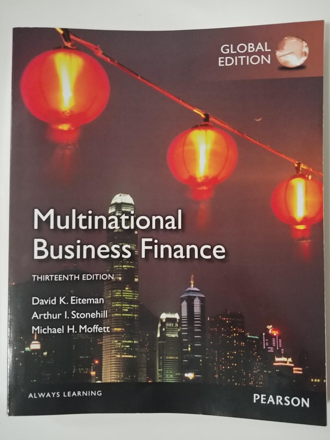 Multinational Business Finance 13th Edition [Textbook]