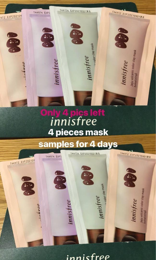 New 2019 Innisfree Jeju volcanic Color clay mask free shipping ✅but ❌ trades )