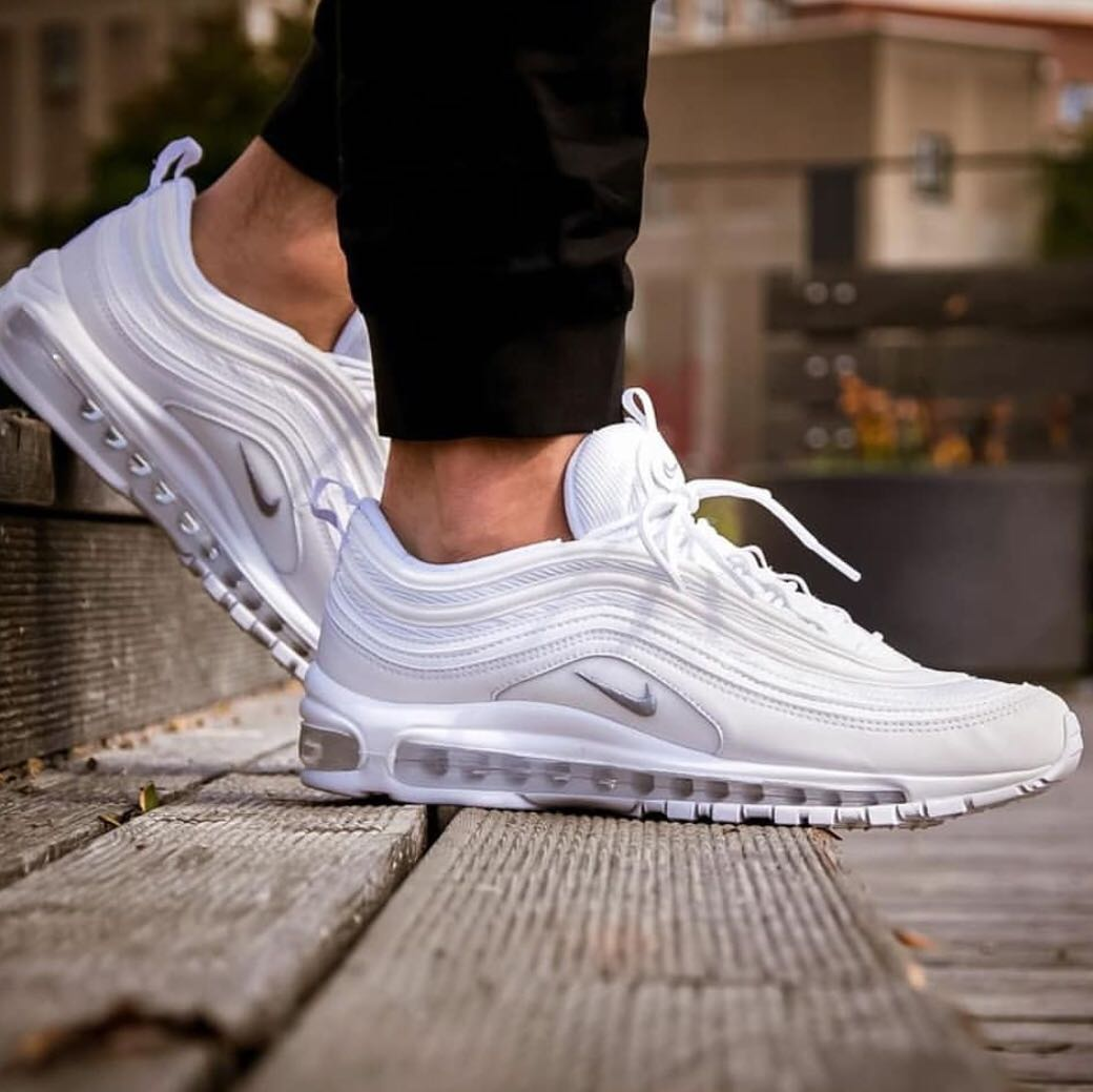 air max 97 triple white outfit