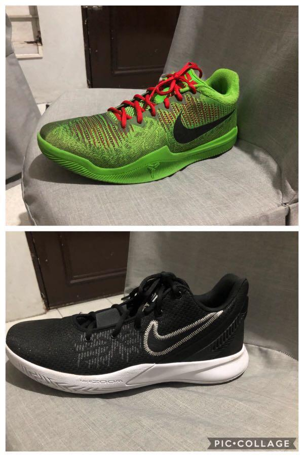 Nike mamba rage and kyrie flytrap 2
