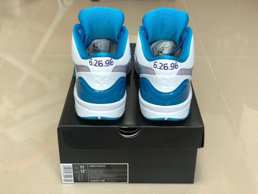 55b8efbb25a6 Nike Zoom Kobe 4 Protro Draft Day