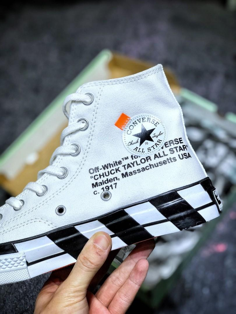 OFF-White x Converse Chuck Taylor All Star 70 OW 2.0 163862C