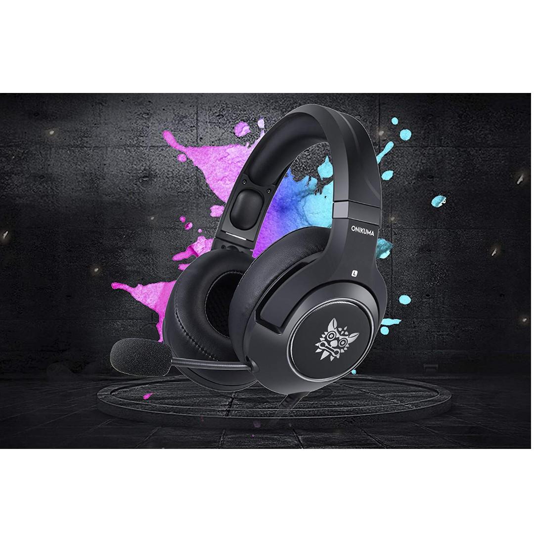 2973331fdfb ONIKUMA Gaming Headset —K9 3.5mm Stereo Sound, Ergonomic Design ...