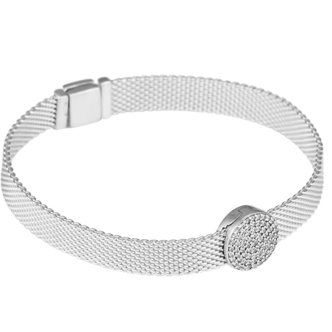 PANDORA Reflexions Bracelet Dazzling Elegance Clip Charm RRP$158