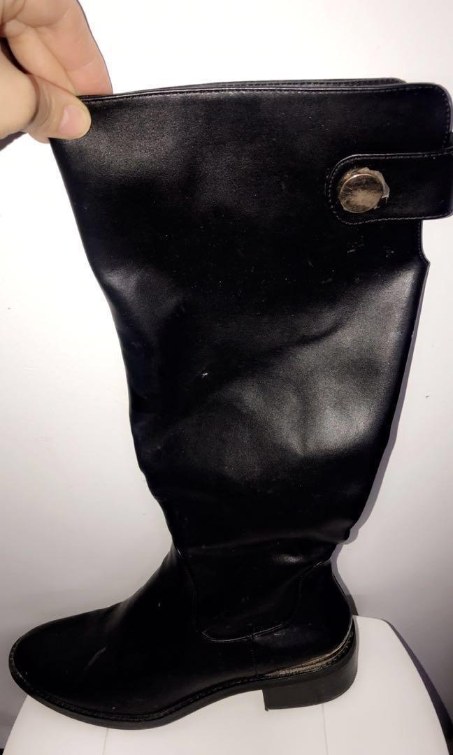 ❗️PRICE DROP❗️ Zara black boots size 8