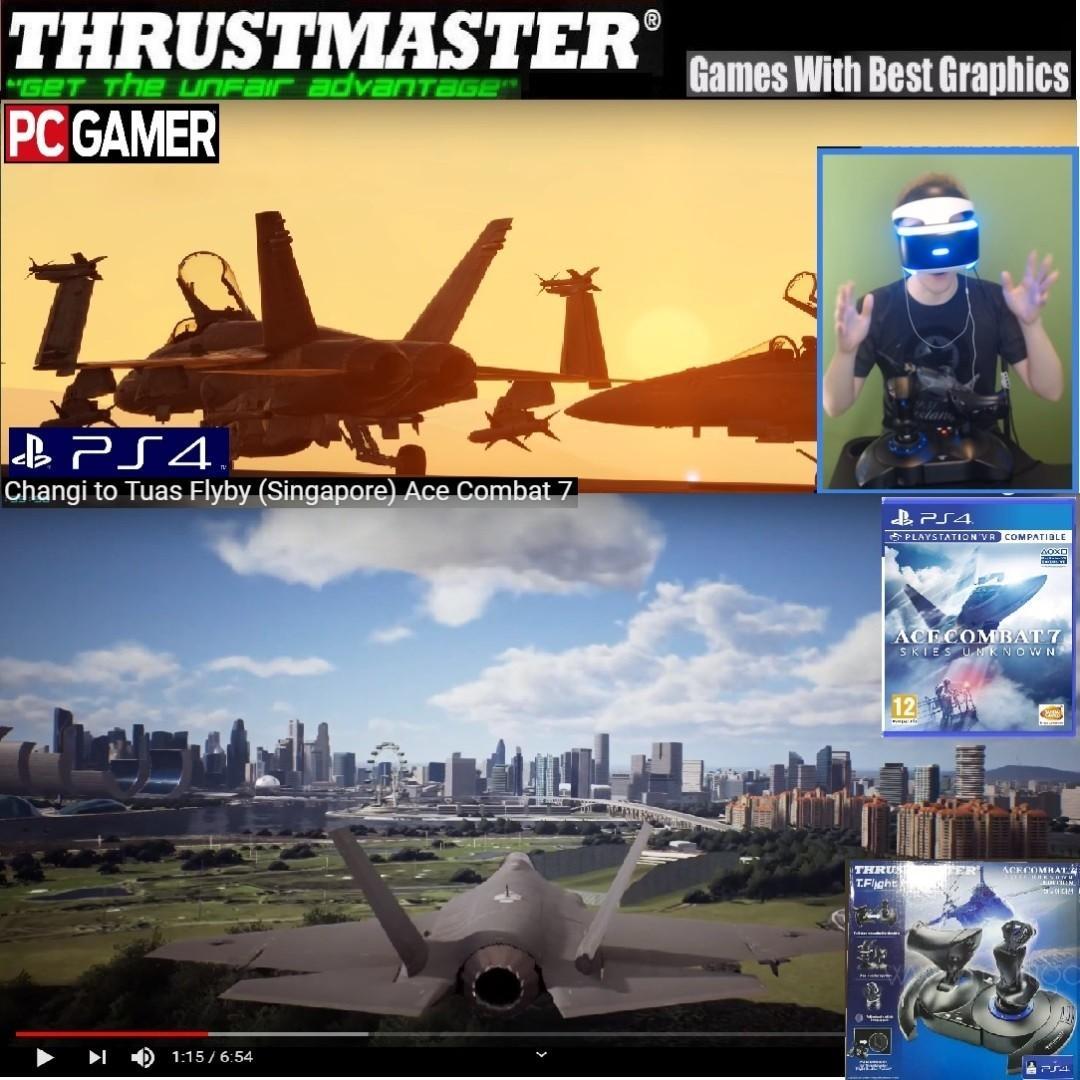 PS4 or Thrustmaster T FLIGHT HOTAS 4 Ace Combat 7 Skies