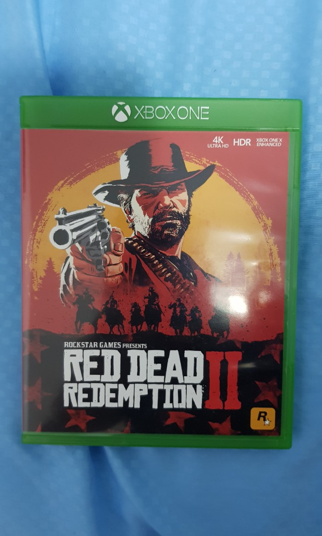 Red Dead Redemption 2 Xbox One, Toys & Games, Video Gaming