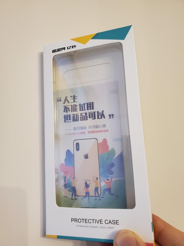 包郵 三星s10 Samsung 電話殼套 超透 裸機電話殼