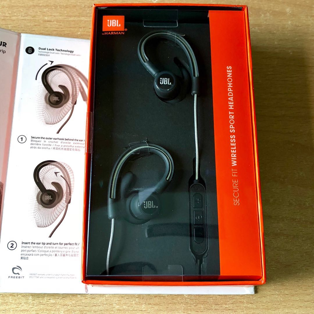 19a0b2fb989 SALE] JBL Reflect Contour Bluetooth Wireless Sports Earphones ...