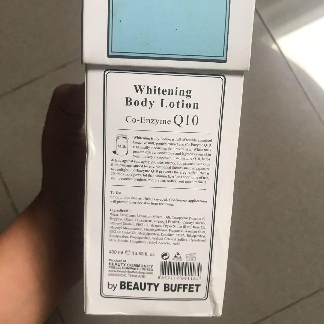 Scentio body Lotion