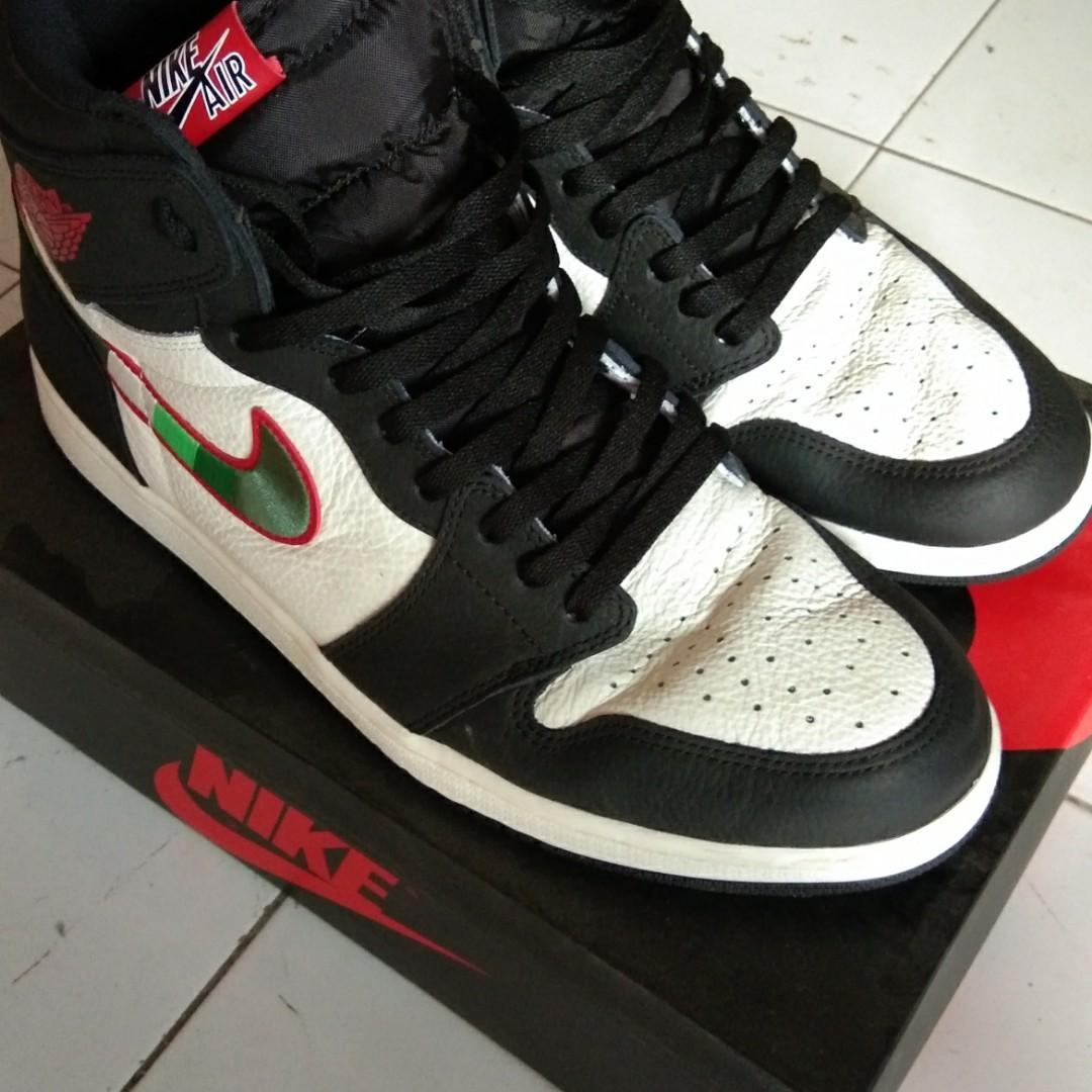 Sepatu jordan 1 star is born ori