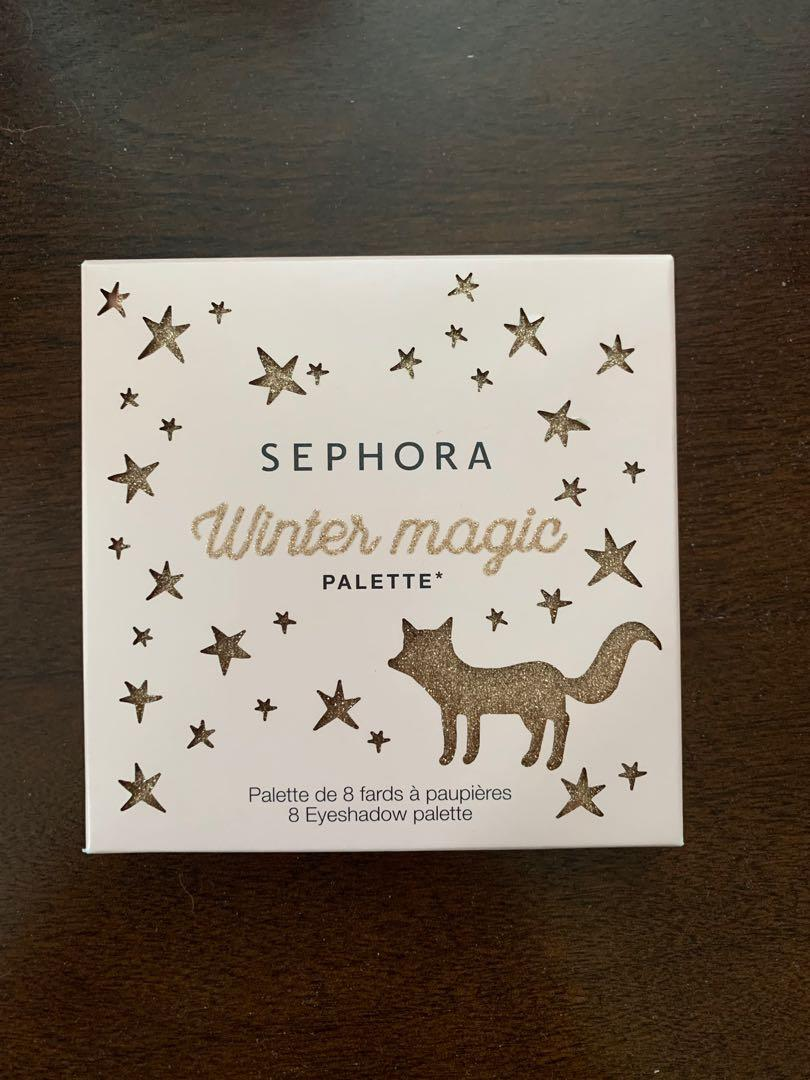 Sephora Collection Limited Edition 'Winter Magic' Eyeshadow Palette